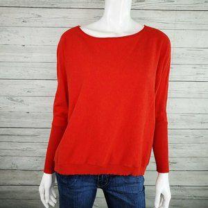 Eileen Fisher Organic Cotton/Cashmere Sweater S